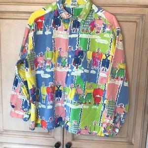 Naf-Naf cotton button front shirt